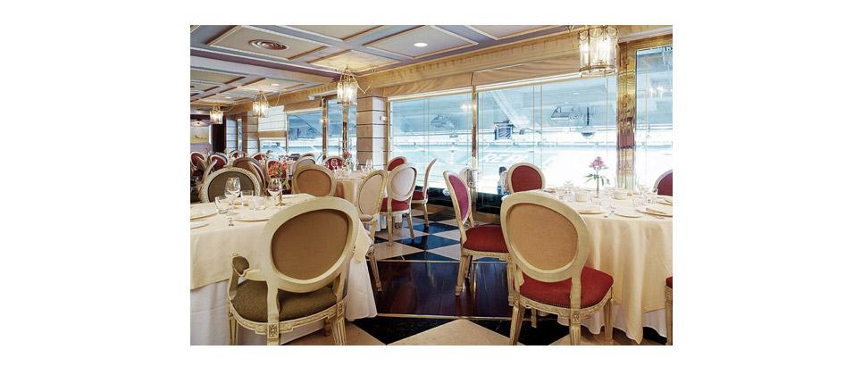 Sillas para la hosteler a restaurante puerta 57 madrid for Puerta 57 restaurante