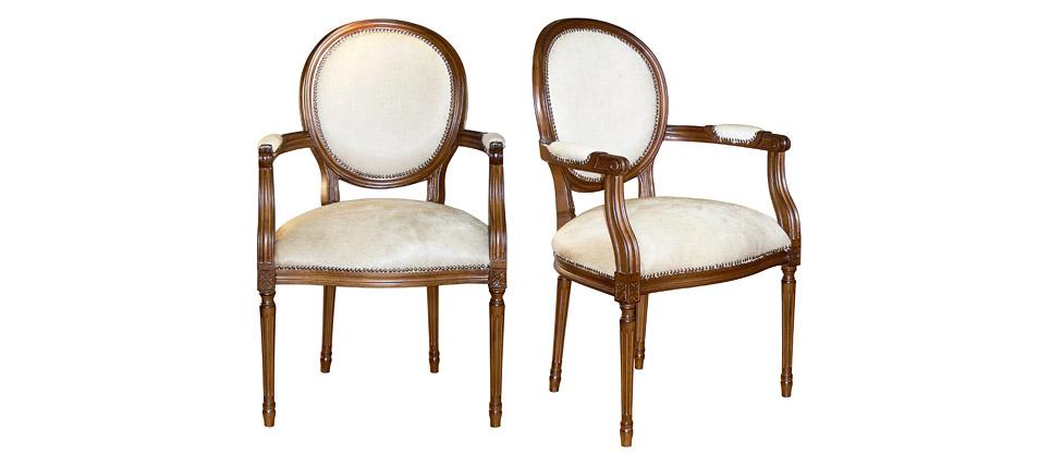 Sillas para la hosteler a silla 035 piel blanca for Sillas de piel blancas