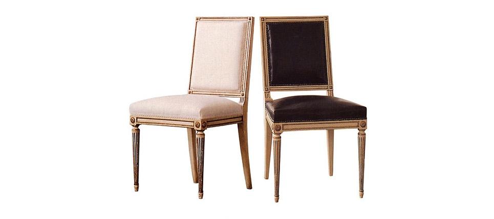 Sillas para la hosteler a silla 329 blanca y negra for Sillas blancas y negras