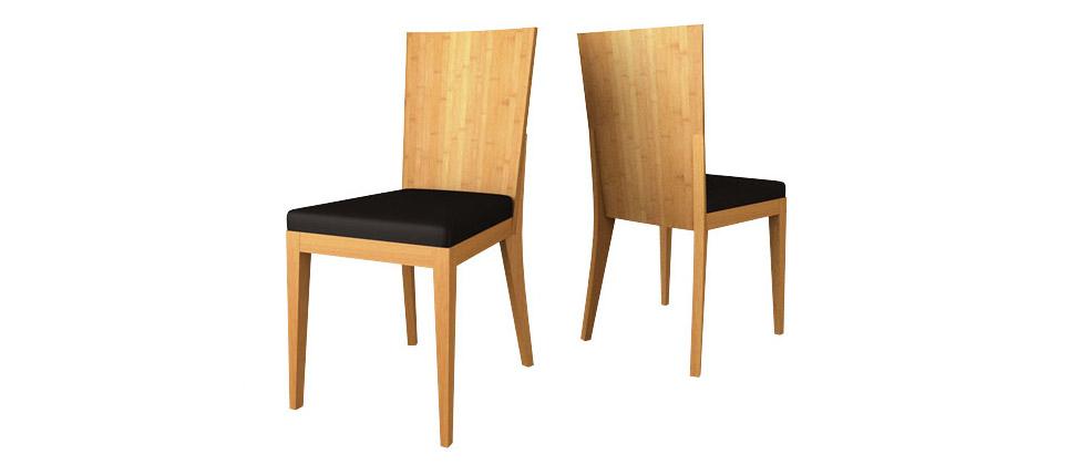 Sillas para la hosteler a silla 056 acabada en bamb - Sillas de bambu ...