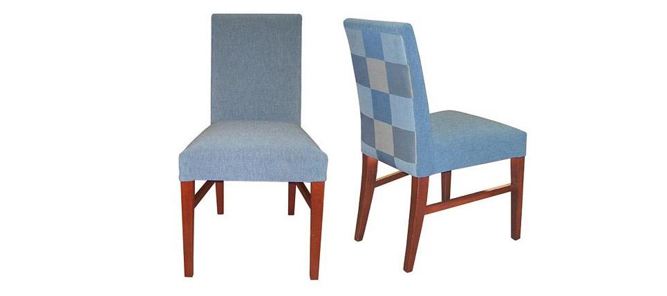 Como tapizar una silla redonda latest finalmente se realiza el remate final cubriendo los - Como tapizar una silla con respaldo ...