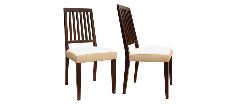 Sillas para la hosteler a silla 472 piel blanca for Sillas de piel blancas
