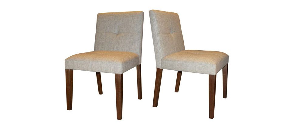 Sillas para la hosteler a silla 578 tela beige for Sillas contemporaneas