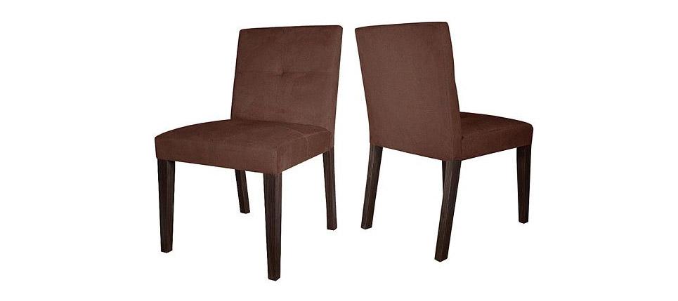 Sillas para la hosteler a silla 578 ante marr n oscuro for Sillas contemporaneas